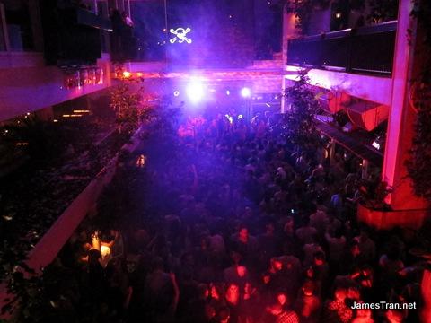 Pacha Club Sydney View of Pacha Sydney Crowd